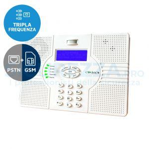 Centralina a tripla frequenza Superokkio PSTN+GSM integrato