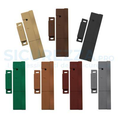 Sensore porte, finestre e tapparelle colorato senza fili