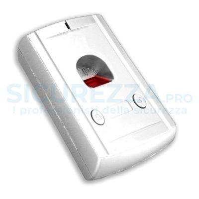 Dispositivo di riconoscimento biometrico delle impronte digitali, completamente senza fili!